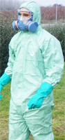 Combinaison tyve verte kit phytosanitaire Protect'Homs