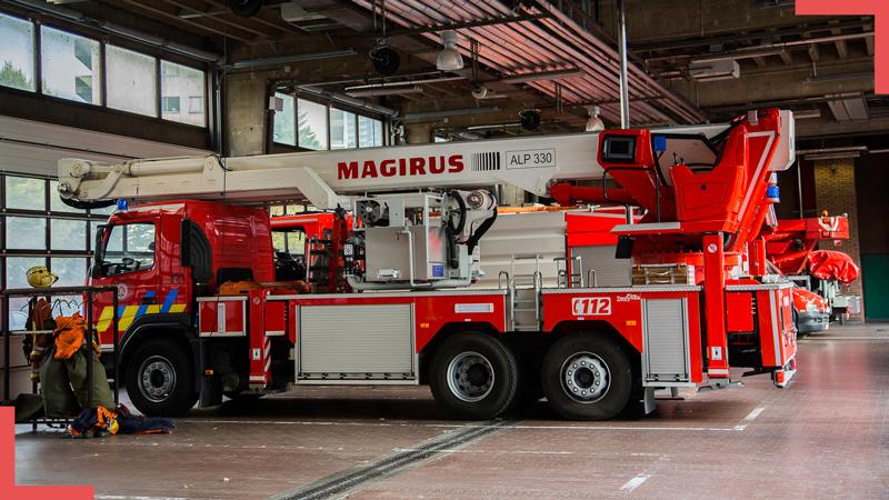 Bruxelles : Protecthoms à pied d'œuvre pour les techniciens du SIAMU