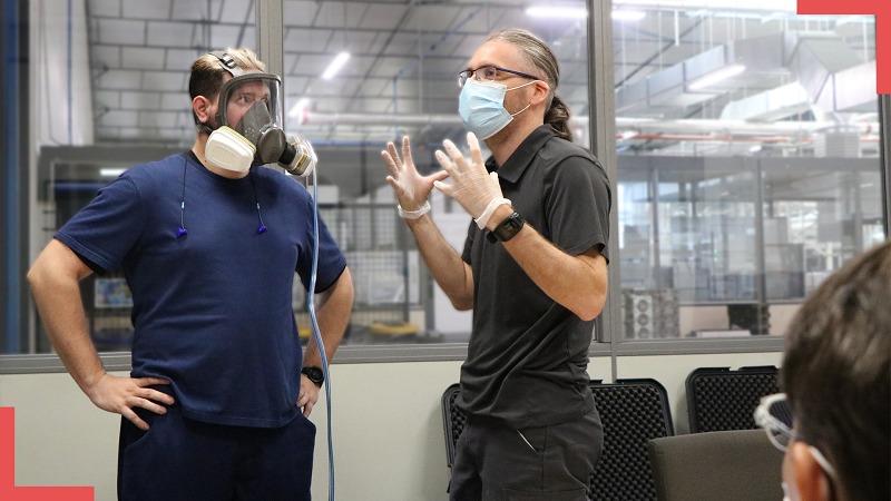 Protecthoms réalise des Fit Tests pour contrôler l'étanchéité des masques respiratoires sur le porteur